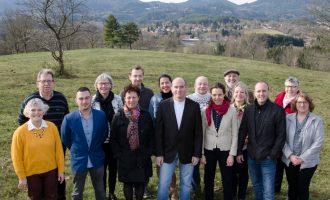 Equipe campagne électorale février 2020